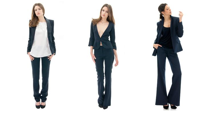 conseil mode blazer veste de smoking mode femme stefanie stefanie renoma. Black Bedroom Furniture Sets. Home Design Ideas