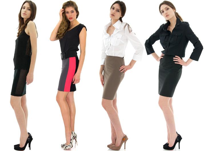 2dae03b6ac51 La jupe tube - Conseils mode - Tailleur working girl - Stefanie Renoma