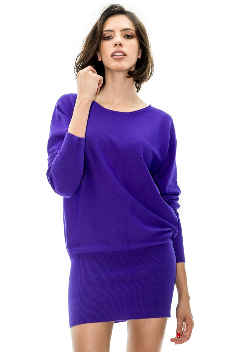 robe cachemire cachemire allude cachemire violet stefanie renoma stefanie renoma. Black Bedroom Furniture Sets. Home Design Ideas