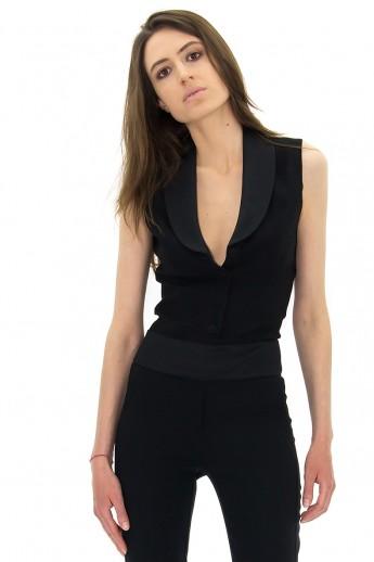 smoking pour femme veste pantalon jupe stefanie renoma. Black Bedroom Furniture Sets. Home Design Ideas