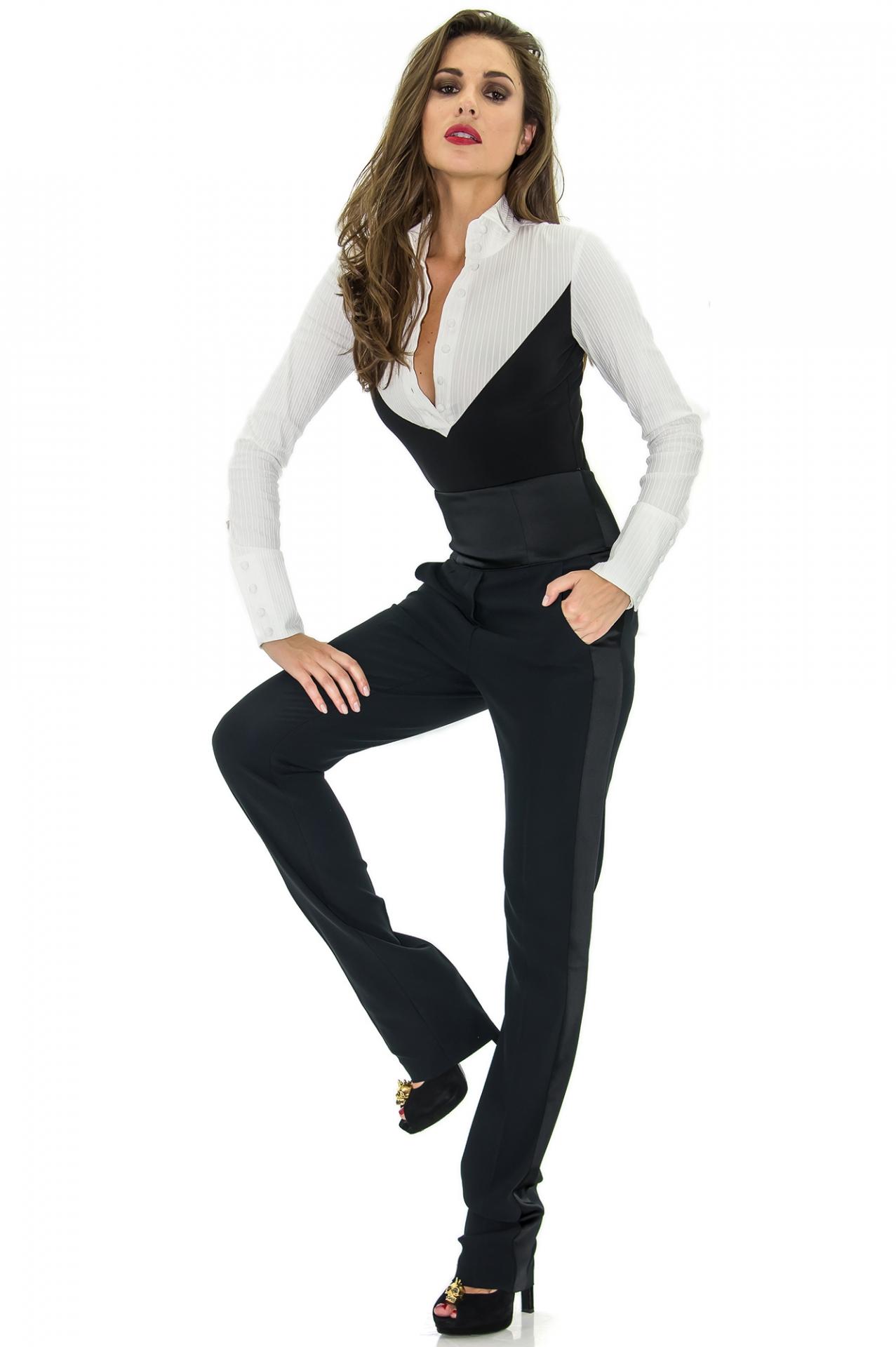 pantalon de smoking taille haute costume femme le plus grand choix de robes de mari e. Black Bedroom Furniture Sets. Home Design Ideas