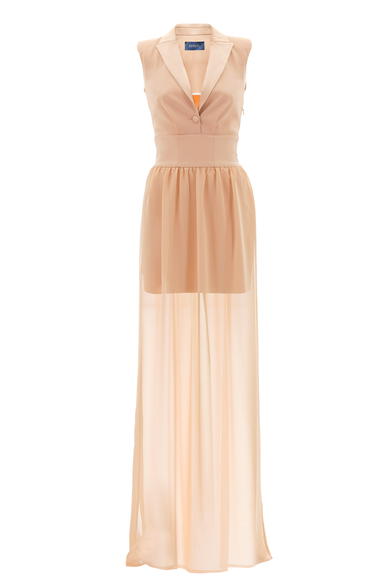 robe longue robe du soir robe rose stefanie renoma stefanie renoma. Black Bedroom Furniture Sets. Home Design Ideas