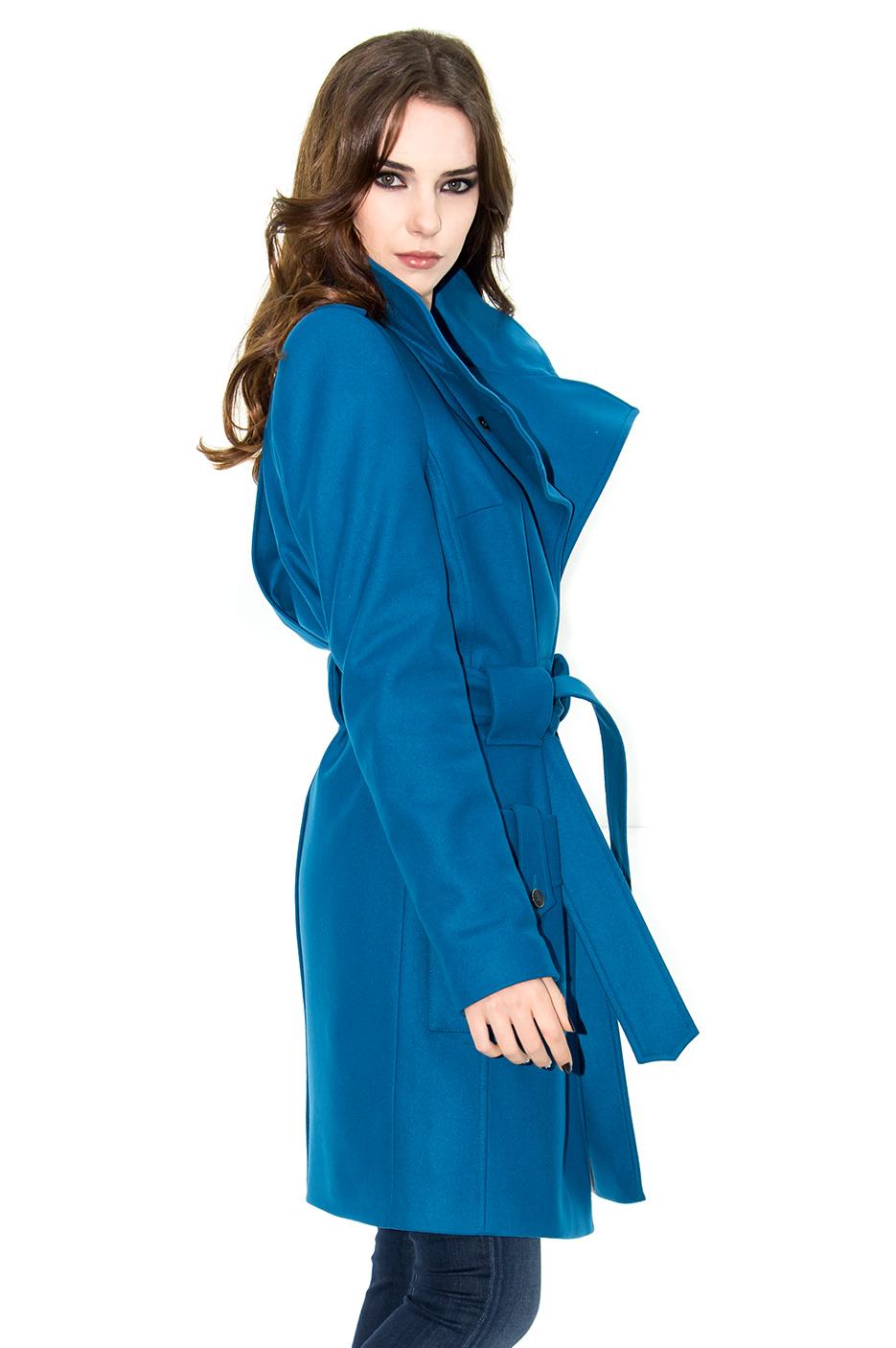 manteau cachemire manteau bleu manteau mode manteau femme stefanie renoma. Black Bedroom Furniture Sets. Home Design Ideas