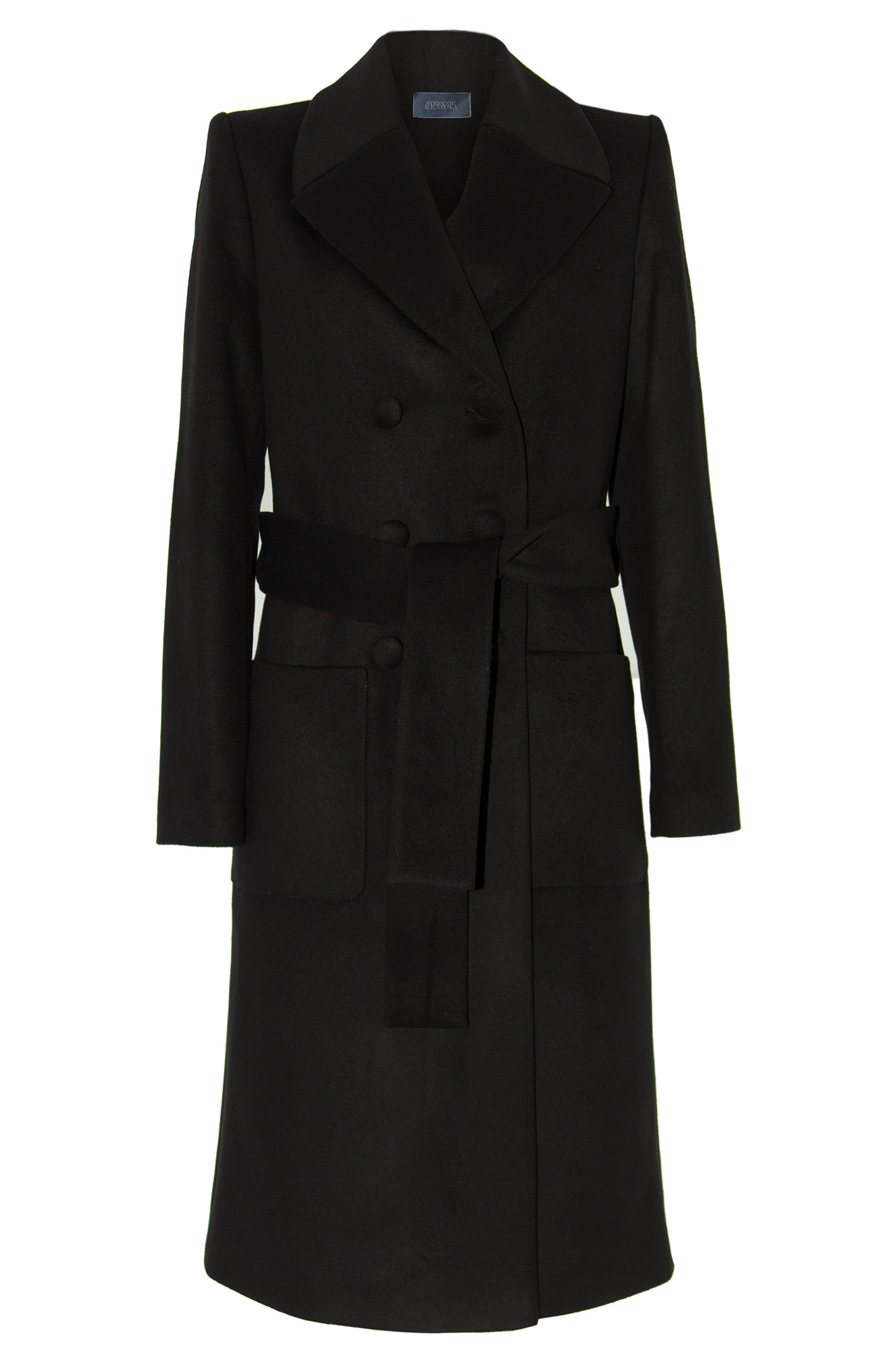 Manteau femme caban long