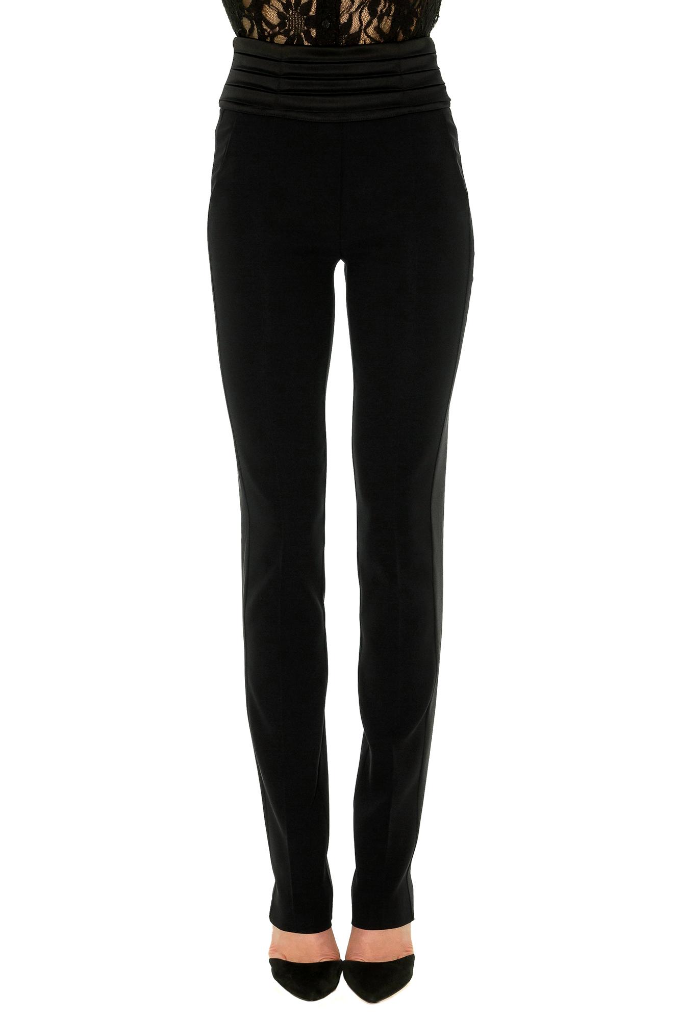 smoking femme noir pantalon taille haute ceinture. Black Bedroom Furniture Sets. Home Design Ideas