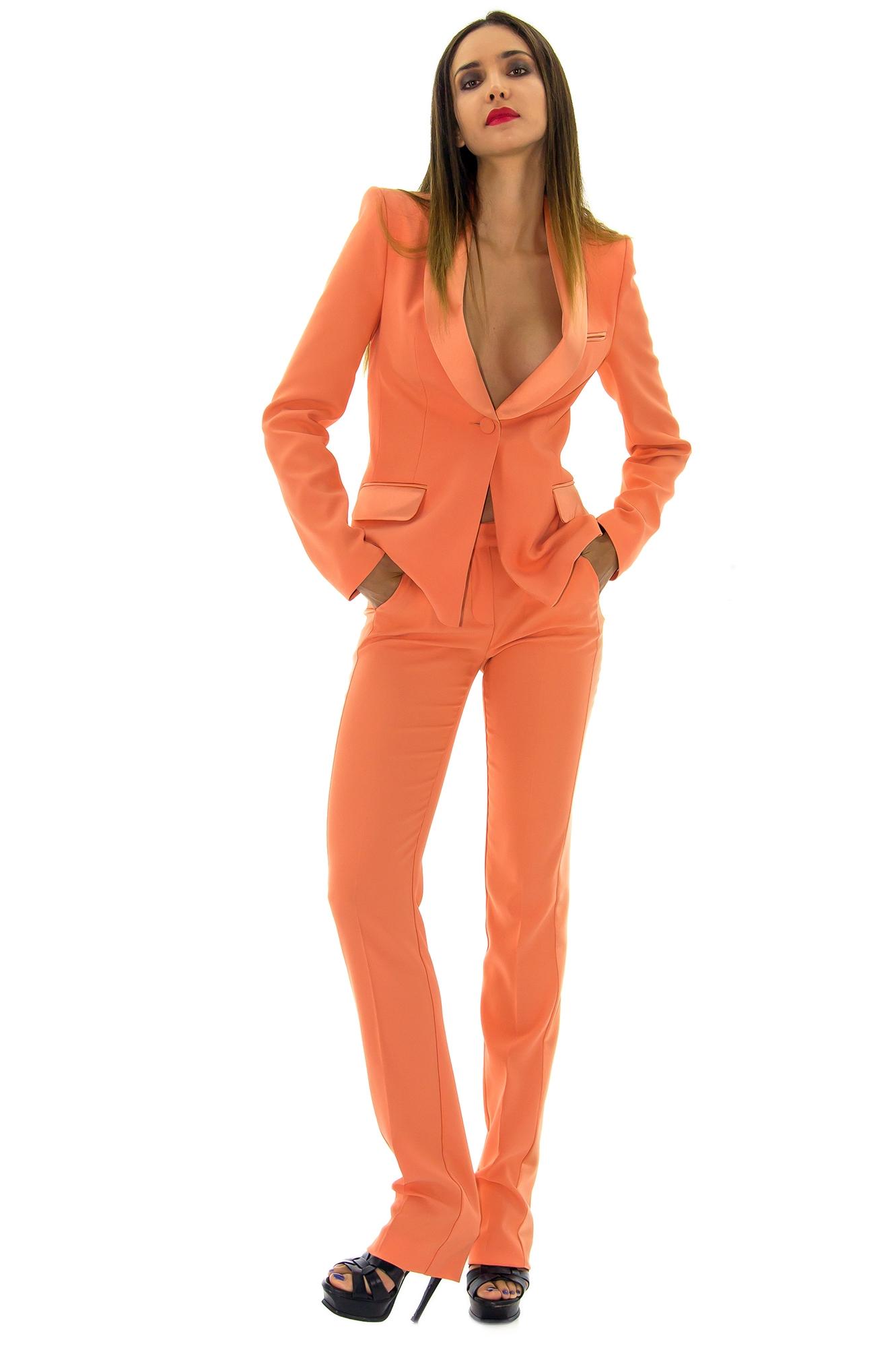 veste de smoking rose orange costume femme le plus grand choix de robes de mari e place du. Black Bedroom Furniture Sets. Home Design Ideas