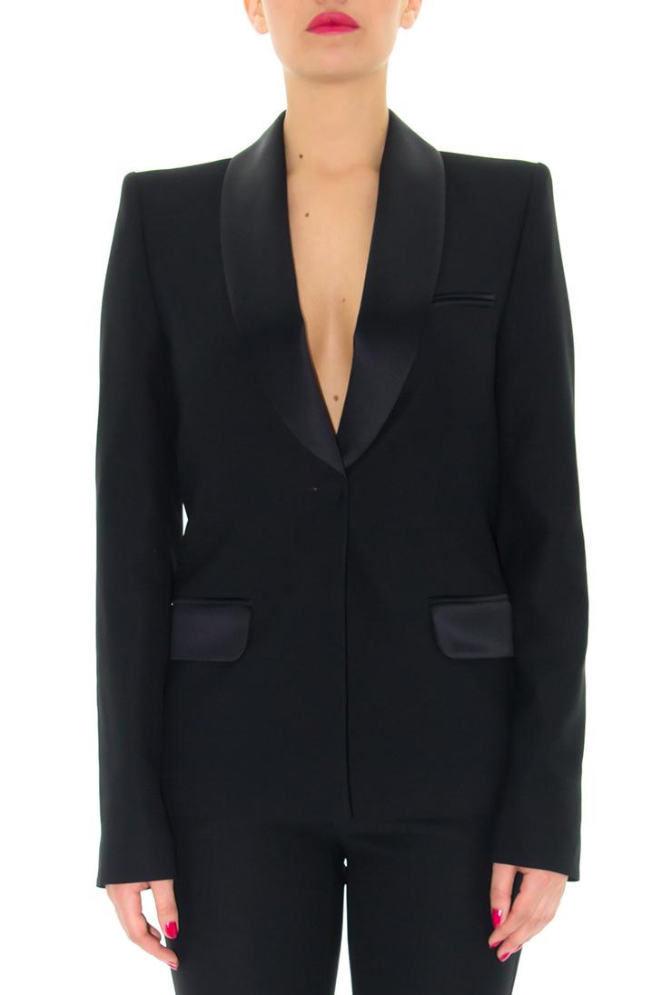 veste de smoking femme stefanie renoma sparkle stefanie renoma. Black Bedroom Furniture Sets. Home Design Ideas