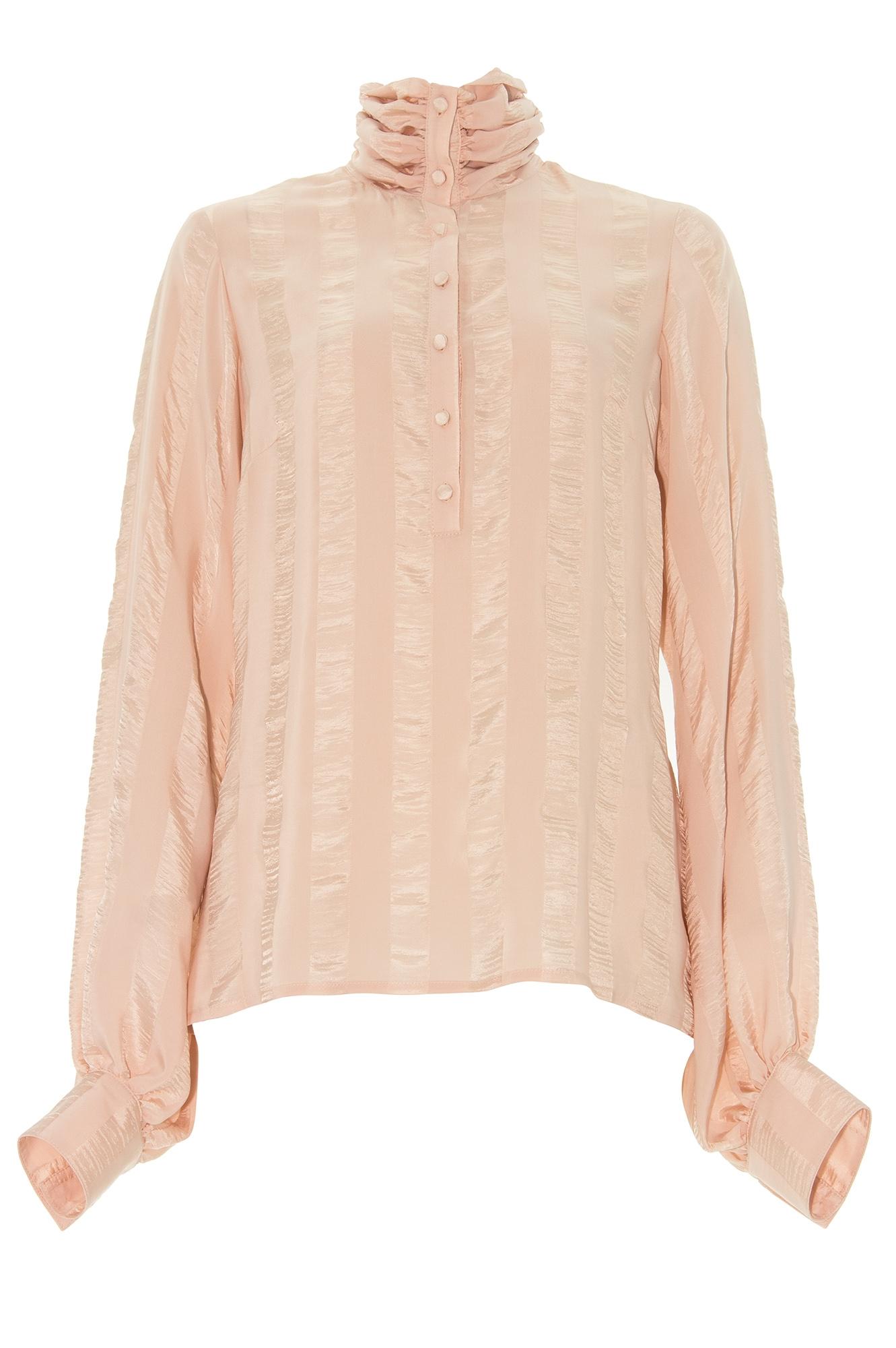 blouse habill e rose poudr stefanie renoma. Black Bedroom Furniture Sets. Home Design Ideas